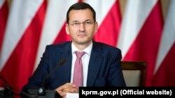Прэм'ер-міністар Польшчы Матэвуш Маравецкі (архіўнае фота)