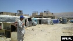 Displaced families in Sulaimaneya province, Iraq (file photo)
