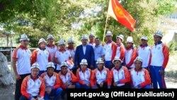 Сборная Кыргызстана по кок-бору. 14 августа 2017 года.