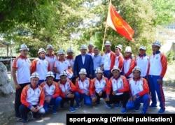 Көк бөрү боюнча улуттук команда, 14-август, 2017-жыл