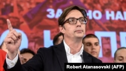 Стево Пендаровски - новият президент на Северна Македония.