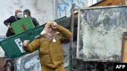 Столкновения в центре Киева, 20 января 2014