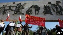 نصب الحرية في ساحة التحرير ببغداد