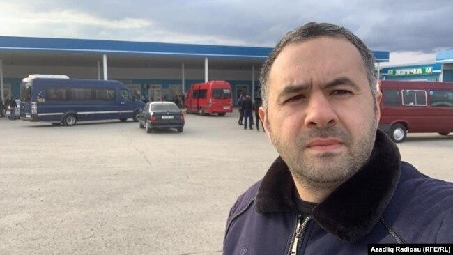 Ülvi Həsənli Hacıqabul ərazisində, 16 fevral 2020