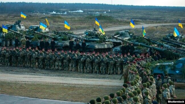 Навчання Збройних сил України на полігоні під Житомиром, 2018 рік