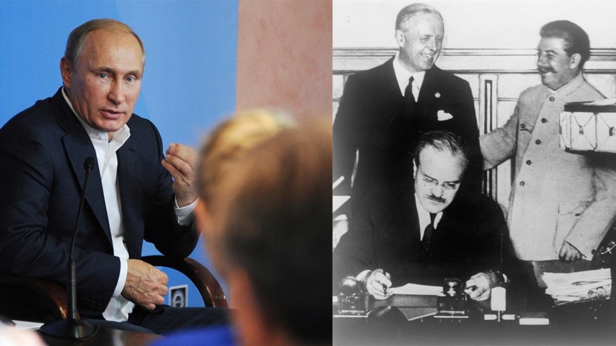 Статья Путина про Вторую мировую войну. В ней говорится и о Степане Бандере