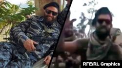 Фотоколаж: актори масовки під час знімання російських бойовиків у Криму