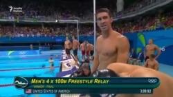 Üzgüçü Michael Phelps rekordunu təzələdi
