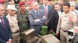 وزير الدفاع مع البيشمركة