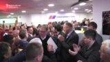 Vucic Celebrates Election Triumph