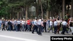 Vətəndaş cəmiyyəti təmsilçilərinin etiraz aksiyası, Bakı, 19 iyun 2009