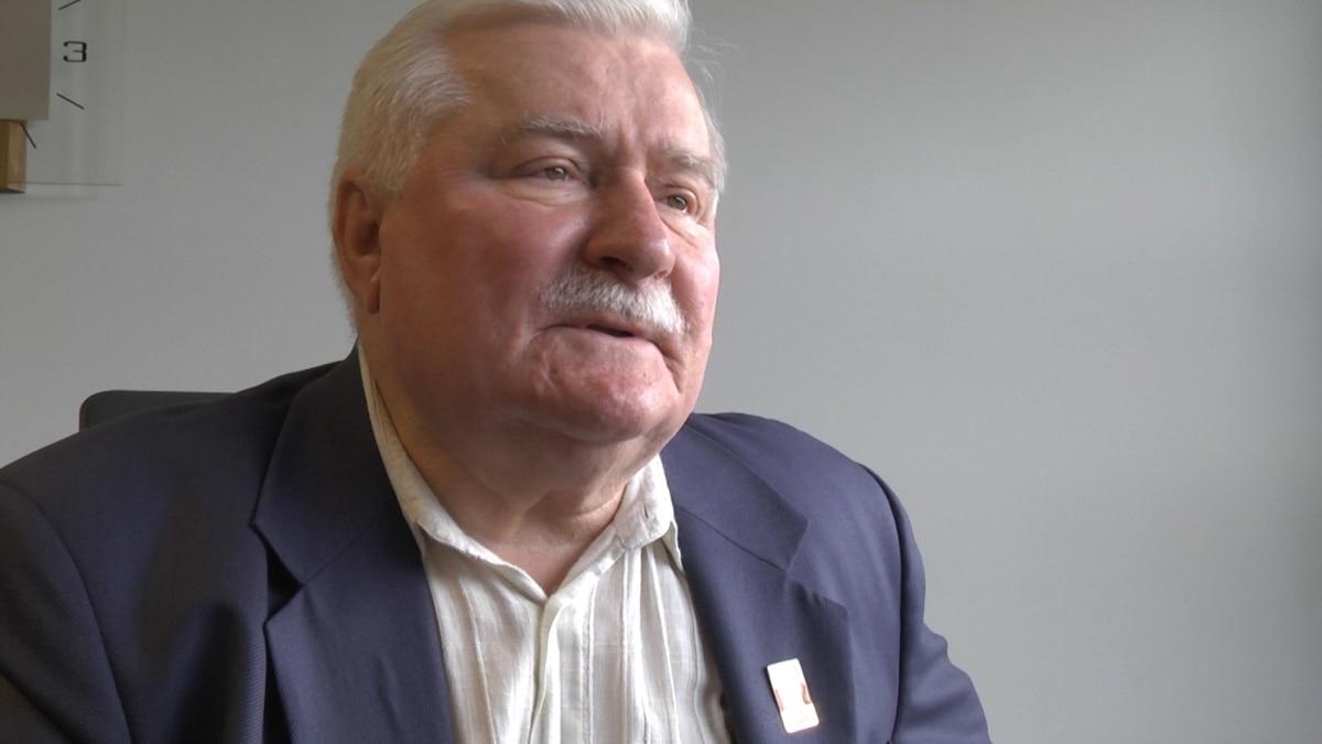 Валенса: Украина нуждается в большей поддержке Европы и мира