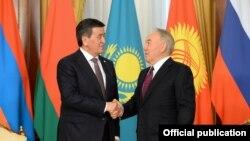 Сооронбай Жээнбеков и Нурсултан Назарбаев
