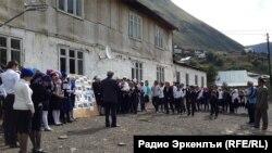 Школа в дагестанском горном селе