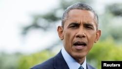 АҚШ президенті Барак Обама. Вашингтон, 29 шілде 2014 жыл.