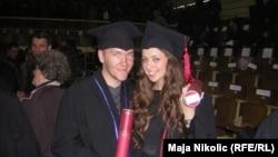Belmir Dardagan, diplomiranje