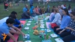Казанда ифтар-пикник узды