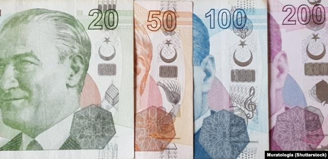 اسکناسهای جدید ترکیه پس از حذف صفر