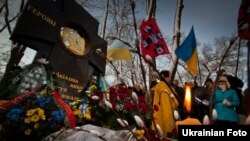 Вшанування пам'яті Героїв Крут на Аскольдовій могилі в Києві, 29 січня 2012 року