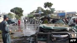 Partlayışın hədəfi polis olsa da, mülki şəxslər də xəsarət alıb, Herat, 3 avqust 2009