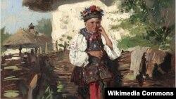 Уладзімер Макоўскі, «Украінская дзяўчына» (1882).