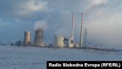 Рударско индустриски комбинат во Битола (РЕК), најголем производител на струја во Македонија.