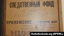 Справа Олеся Курбаса з архівів КДБ