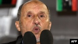 """We are a Muslim nation, with moderate Islam,"" Mustafa Abdel Jalil told Libyans during his speech on Martyrs' Square in Tripoli on September 12."
