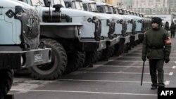 В Москву направлены дополнительные подразделения внутренних войск