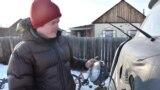Юсси Конттинен в якутской деревне Техтюр
