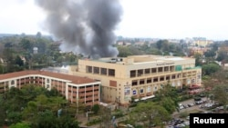 Centrul comercial Westgate din Nairobi ,September 23, 2013