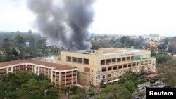 """Найробиде """"Әл-Шабааб"""" басып алған сауда орталығы. 23 қыркүйек 2013 жыл"""