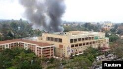 Під час протистояння в торговому центрі в Найробі, фото 23 вересня 2013 року