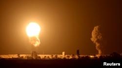 "Ysraýylyň harbylary 16-njy sentýabrda irden Gaza takmynan 10 howa zarbasyny amala aşyrandyklaryny we ""Hamas"" söweşiji topar tarapyndan dolandyrylýan sebitden Ysraýylyň serhet ýakasyndaky territoriýalaryna 15 raketanyň atylandygyny aýtdy."