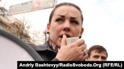 Депутат Верховної Ради Леся Оробець