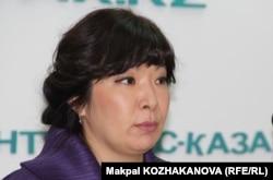 Алматы онкология орталығының бас дәрігері Диляра Қайдарова.