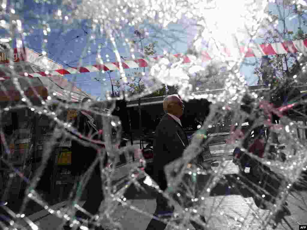 Atina, 20.10.2011. Foto: AFP / Angelos Tzortzinis