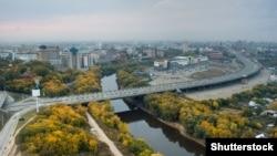 Омск, вид города