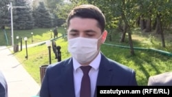 Уже бывший глава СНБ Армении Аргишти Кярамян (архив)