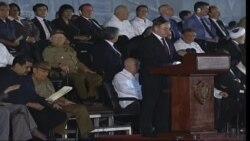 «Мы разьвітваемся з чалавекам-эпохай, нашым сябрам Фідэлем» — Віктар Шэйман на Кубе