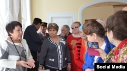 Себертатарларның өлкә мохтарияте җитәкчесе Фәүзия Марганова (с)