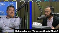 Jamoliddin Bobojonov (left) and Bobur Akmalov (file photo)