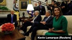 دیدار ترامپ با رهبران کنگره در سال ۲۰۱۷