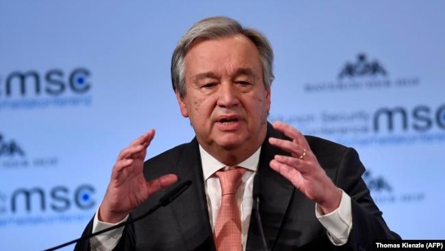 دبیرکل سازمان ملل میگوید که غوطه شرقی نمیتواند بیش از این منتظر بماند.