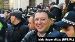 Гиги Угулава вернулся на акцию протеста