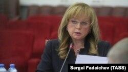Russian Central Election Commission chief Ella Pamfilova (file photo)
