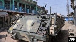 Ushtria e Pakistani gjatë ofensivës kundër militantëve