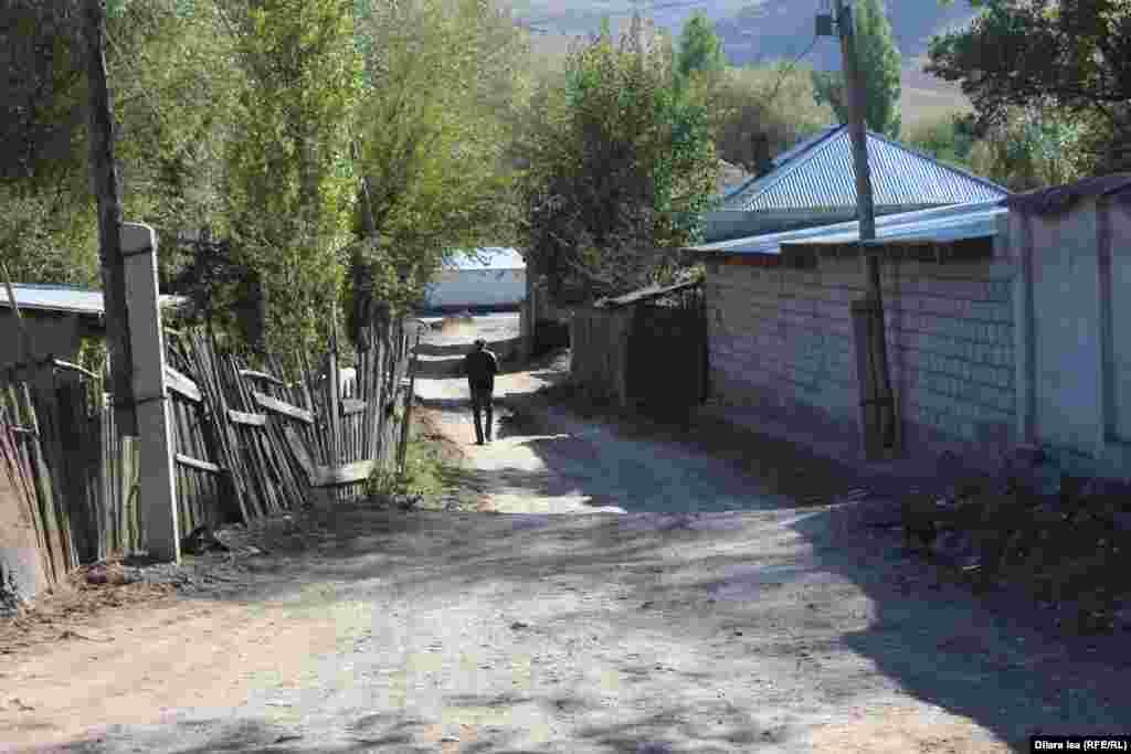 Одна из улиц в селе Хантагы.