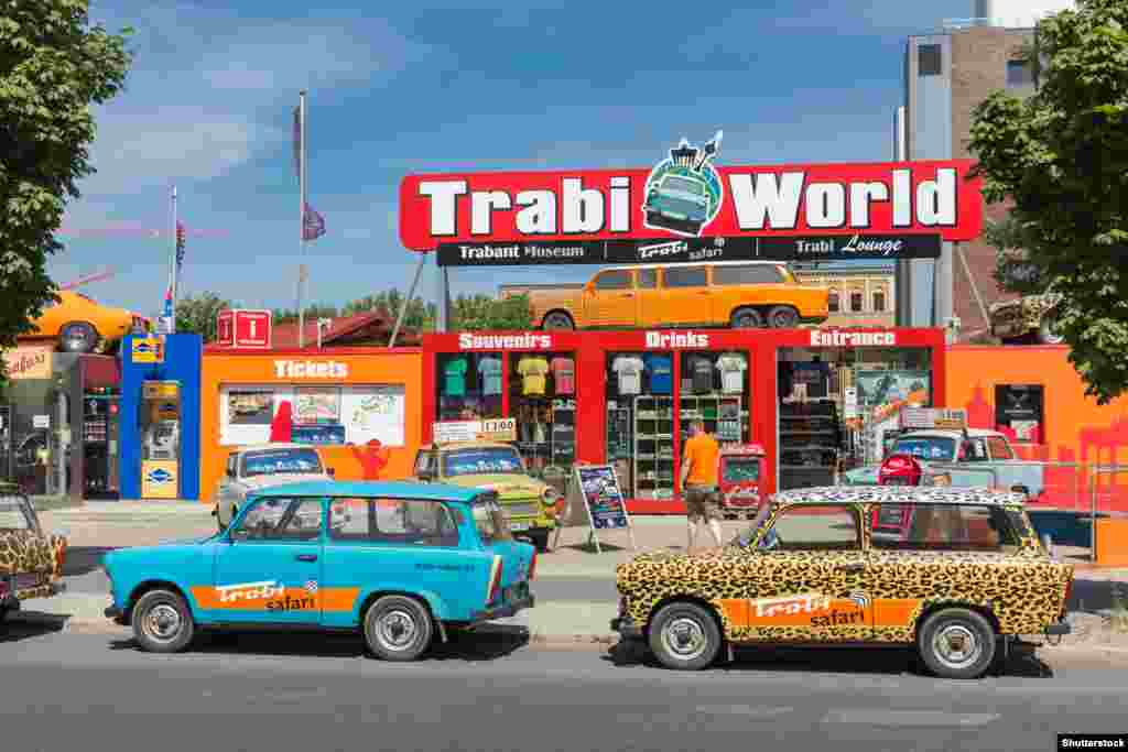 In Berlin, Trabant enthusiasts gave rise to new business...