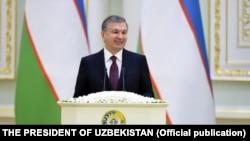 Президент Шавкат Мирзиёев.